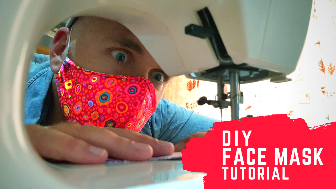 Nick VT - DIY Fabric Face Mask Tutorial and Pattern on YouTube